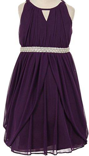 Buy belted chiffon dress new look - 2