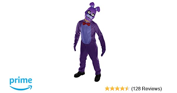 amazoncom rubies five nights childs value priced at freddys bonnie costume medium toys games
