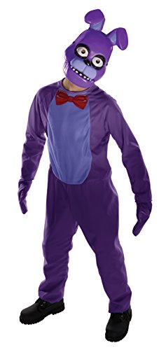 Five Nights Child's Value-Priced  at Freddy's Bonnie Costume, (Five Nights At Freddy's Costumes For Halloween)