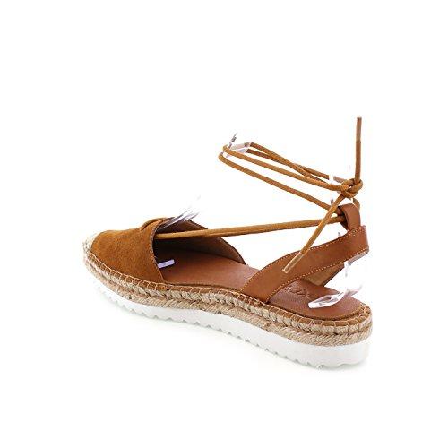 SIXTY SEVEN Damen 77911 Kleid-Schuhe Suede avellana/Vak avellana