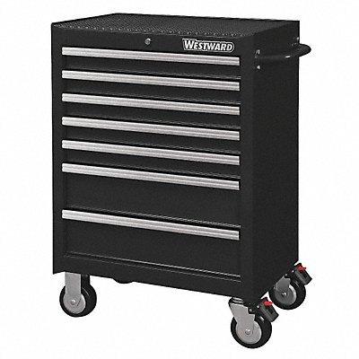 Rolling Cabinet, Black ,Westward, 32H889 (Tool Box Westward)
