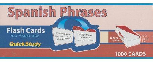 Spanish Phrases (Quickstudy: Academic)