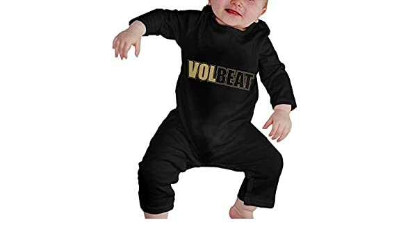 LarryGThatcher Baby Volbeat Long Sleeve Breathable Baby Romper 18M