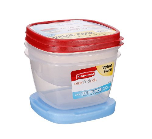 Rubbermaid Reuseable Food Storage Containers Blue Ice Value Pack