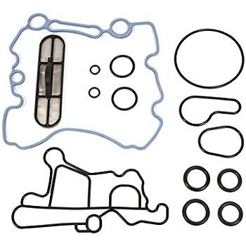 yjracing Engine Oil Cooler Gasket /& Cooler Gasket Kit Fit for 2003-2010 Ford 6.0L Diesel F250 F350 F450