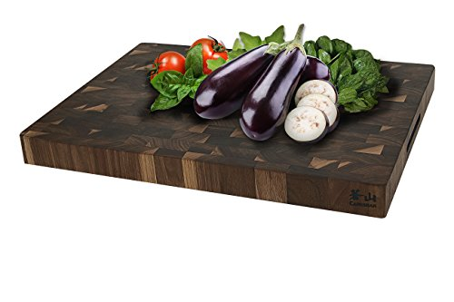 Cangshan 1022360 Walnut End-Grain Cutting Board,16 x 22 x 2'', Crafted in USA by Cangshan (Image #4)