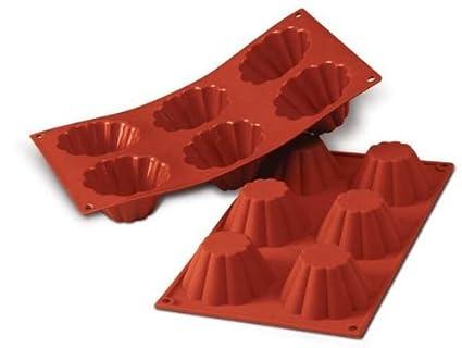 Molde de silicona para flan