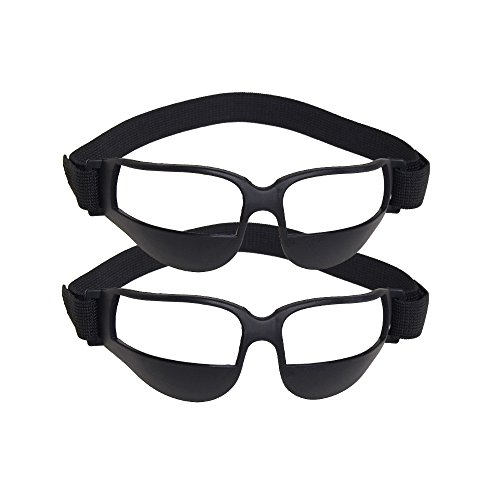 7accd78f90 1 x Sports glasses. TEKCAM 2 Pack Basketball Dribble Goggles Basketball  Training Aid for Football Basketball (No Glass in Goggles)