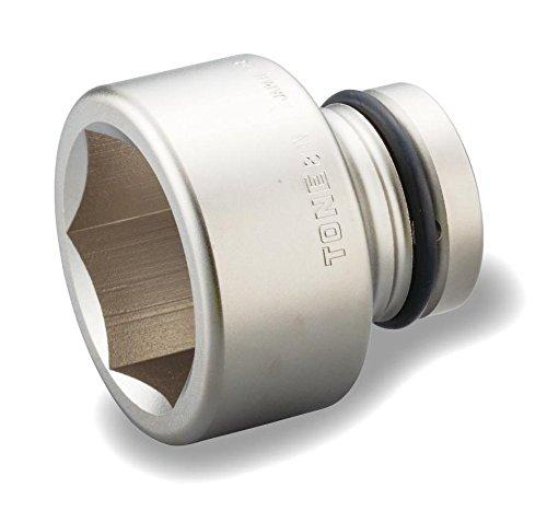 トネ(TONE) インパクト用ソケット 8NV-60 差込角25.4mm 二面幅60mm B004OCMMW4 二面幅:60mm 二面幅:60mm