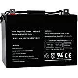 Weize 12V 100AH Deep Cycle AGM SLA VRLA Battery for Solar Wind RV in Series 24V 48V