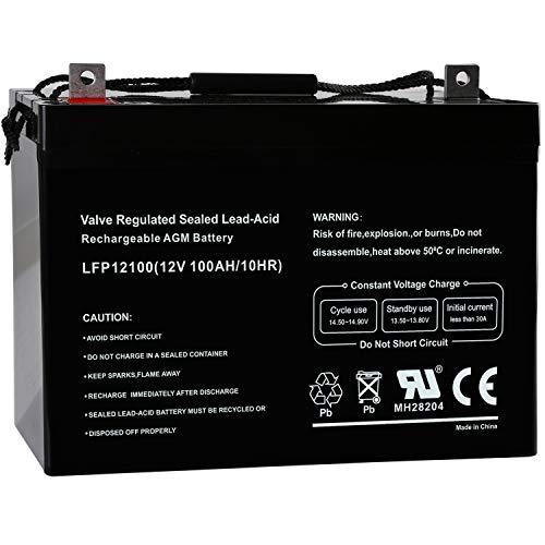 marine rv deep cycle battery - 2