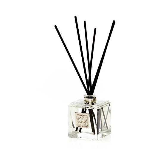 Vága Collection Reed Diffuser Gift Set Rose Lavender for Aromatherapy, Glass Bottle, Essential Oil, Long Lasting Home Fragrances, Natural Scented, - incensecentral.us