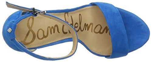 Tacco Femminile Sandalo Edelman Aquarian Blu In Yaro Camoscio Sam w1TUxnqT6R
