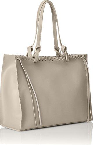 Italie 38x30x15 pour dans Cm l'interieur CTM en sac en femme veritable main amovible à Fango couvert Sac fait en avec cuir Gris liege qW0WH4Zn