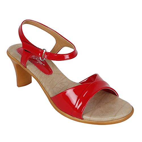 Adjoin Steps Casual Heels for Women