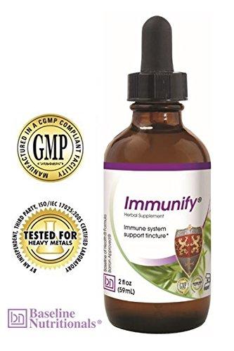 UPC 895157000306, Immunify -- Immune Support with Echinacea, Astragalus, Pau D'Arco, Suma Root & Cordyceps.