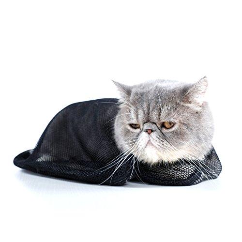 Petsfit Adjustable Cat Grooming Bag Biting & Scratching Resi