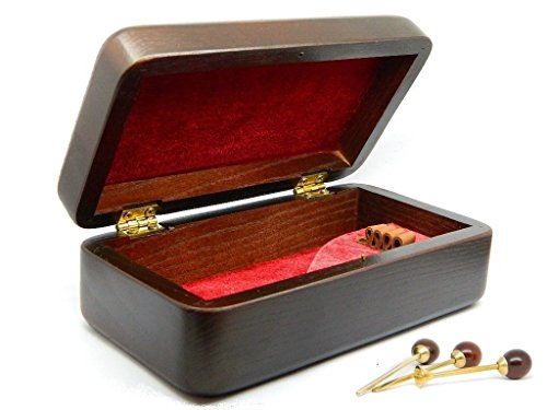 Dr.Watson - Wooden Gift Box, Case for Tobacco Smoking Pipe + cleaning kit set (Standard-(6.8