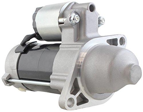 (New Premium Starter fits Kubota Mower ZD25, ZD28 25HP-28HP with Kubota D1105 Diesel Engine 1996-2005 428000-1160 428000-1161 1G069-63010 1G069-63011 1G069-63012 D-1105 9742809-116 71-29-18413N)