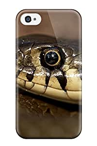 New Premium DUKFiGr5707wpLnz Case Cover For Iphone 4/4s/ Ring Snake Protective Case Cover Sending Free Screen Protector