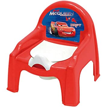 Chaise Petit Pot De Chambre Bb Cars Disney Dimension 30 Cm X 35