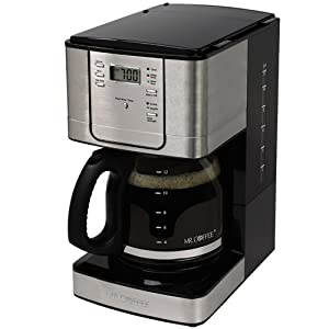 Mr. Coffee JWX31 12-Cup Programmable Coffeemaker, Stainless Steel : Great coffee maker