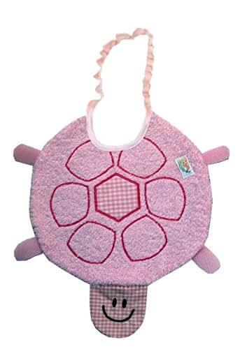 Tie: Elastic Zigozago Baby Bib GUITAR One Size