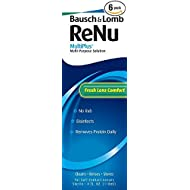 Bausch + Lomb ReNu Fresh All Day Moisture MultiPlus Multi-Purpose Eye Contact Lens Solution 4 Fluid Ounces (Pack of 6)