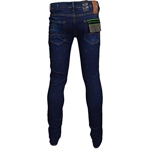 Hombre Jeans 883 Police Lavado Azul Azul RqwBYnEx10