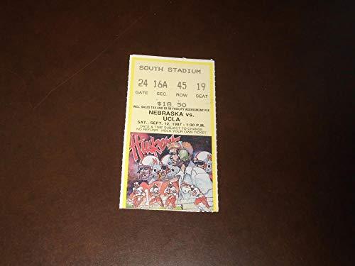 1987 NEBRASKA VS UCLA COLLEGE FOOTBALL TICKET STUB for sale  Delivered anywhere in USA
