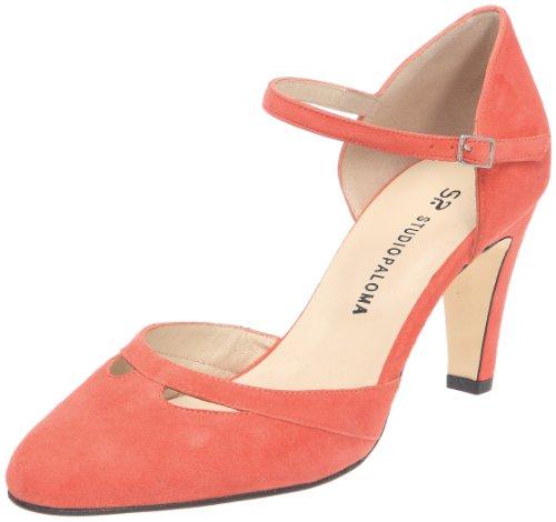 Studio Paloma Women's 18520 355 Taco 65737 Forrado Fashion Sandals Rouge (Ante Rojo)
