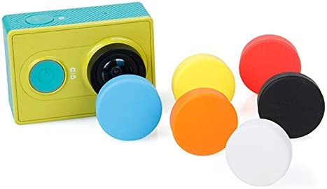 3 Silicone Lens Cap for Xiaomi Yi//GoPro Hero4 Random Color Delivery Reliable 3+