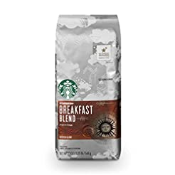 Starbucks Breakfast Blend Medium Roast G...