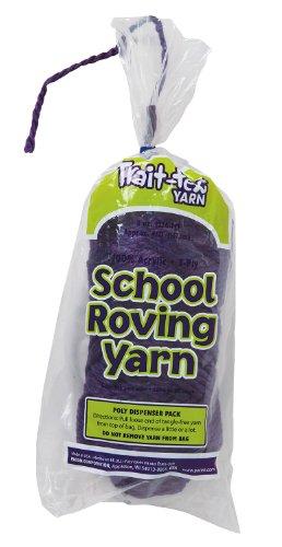 Trait-tex 3-Ply School Roving Yarn Skein, Purple, 150 (Pacon Acrylic Roving Yarn)