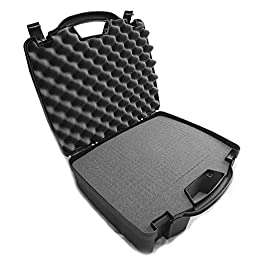 Casematix 16 inch Hard Travel Case Compatible with Bose T8s ToneMatch Mixer, Xlr Audio Cables and More with Select…