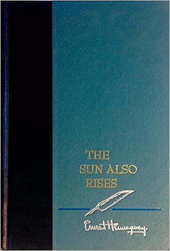 the sun also rises critique