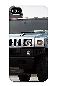 Chapiterq Case Cover For Iphone 4/4s - Retailer Packaging Hummer H2 Protective Case
