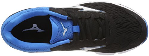 Blackwhitedivablue Running de Hombre Equate Multicolor Zapatillas Mizuno 2 Wave para ZqUwOzC