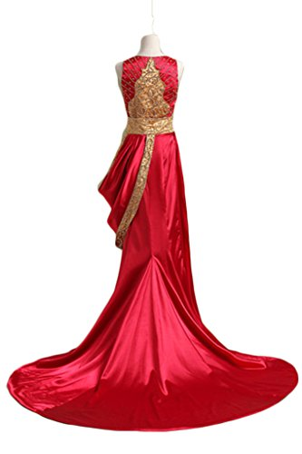 Long Golden Women Dresses Line s Green Chupeng Beaded Prom A Formal Evening UYgfqw