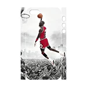 Cool Painting Michael Jordan Brand New 3D Cover Case for Iphone 5,5S,diy case cover case-689007