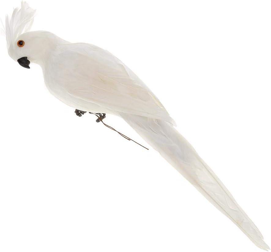 Broadroot Loros Artificiales del pájaro de la Espuma pájaros Decorativos para el Arte Decoración Creativa de la Oficina del jardín del Juguete del pájaro Artificial