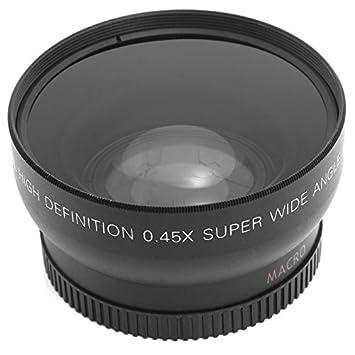 Gran Angular Lente Macro para Nikon D3200/D5100/D5200/D3100/LF036 ...