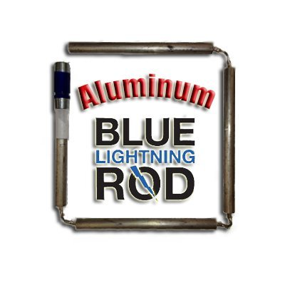 Blue Lightning Aluminum / Zinc Flexible Anode Rod, Nipple Fitting, 42