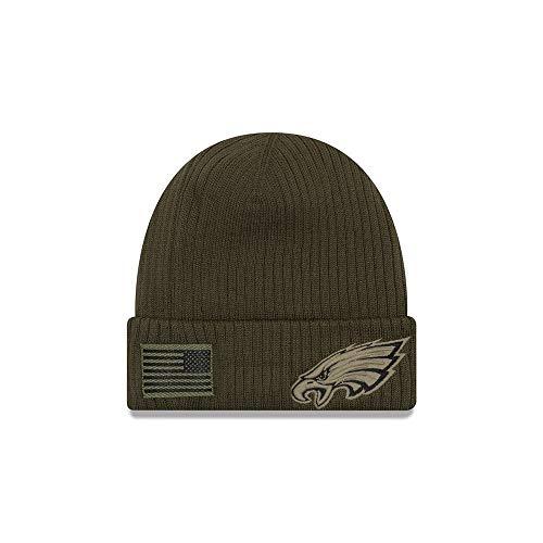 New Era 2018 Mens Salute to Service Knit Hat (Philadelphia Eagles)