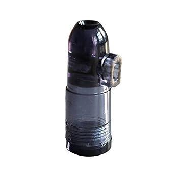 Dosificador Sniff Snuff, Botella para esnifar, dispensador distribuidor, procesador de color negro: Amazon.es: Bricolaje y herramientas