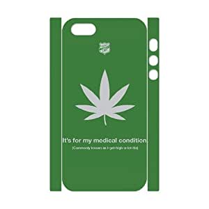 3D Vety Funny IPhone 5,5S Cases Shock Absorbent Common Lie, Funny Iphone 5s Cases for Men [White]