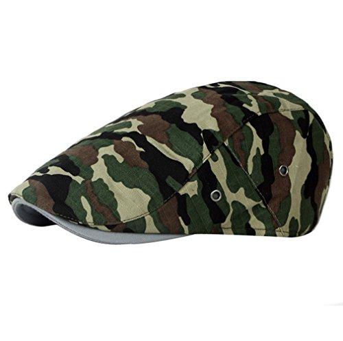 Hommes Printemps D Et Camouflage 4 Casquette Plate Femmes Couleurs Béret Automne Pour Assortis Acvip Eté Réglable tqYvnwPwZx