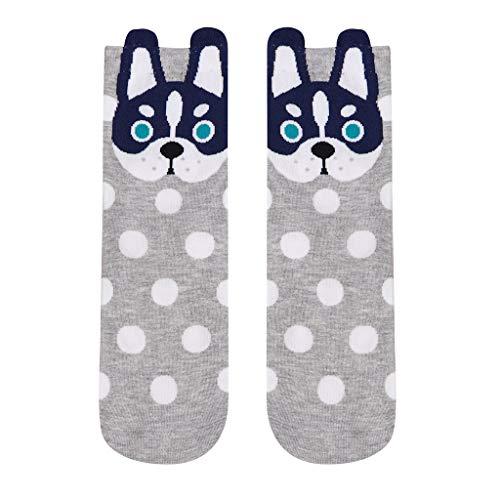 Tronet Casual Socks/Women Man Cotton Socks Animal Art Animation Character Dress Sock]()