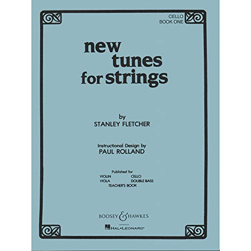 Boosey and Hawkes New Tunes for Strings - Book 1 (Cello) Boosey & Hawkes Chamber Music Series Softcover by Stanley Fletcher ()