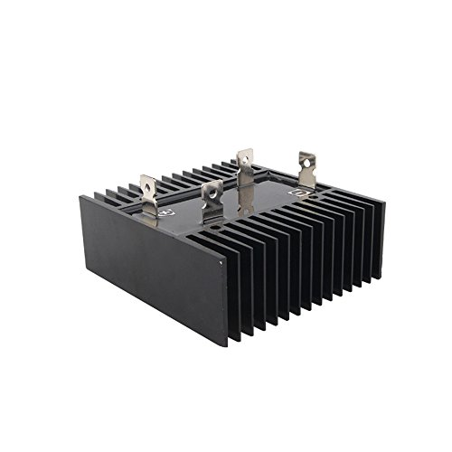 BestTong Single Phase Diode Bridge Rectifiers with Heatsink Design 200A AC to DC 1000V QL200A